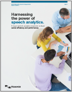 Cover of Harnessing the power of speech analytics white paper